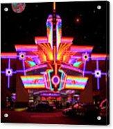 Neon Night At The Bijou Acrylic Print