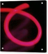 Neon Red Acrylic Print