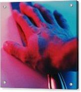Neon Retrica Acrylic Print
