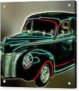 Neon Ride 3562 Acrylic Print