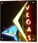 Neon Signs 3 Acrylic Print