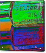 Neon Vessels Acrylic Print