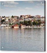 Neos Marmaras Greece Summer Vacation Acrylic Print