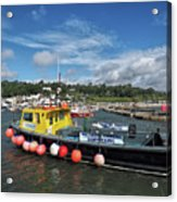 Neptune At The Harbour Acrylic Print
