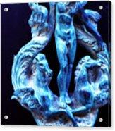 Neptune Door-knocker Acrylic Print