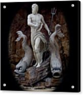 Neptune On Guard Acrylic Print