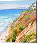 Neptune's View Leucadia California Acrylic Print