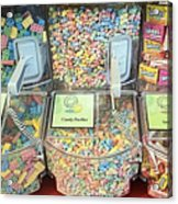 Nerds Smarties And More Candies Acrylic Print