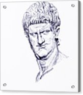 Nero Roman Emperor Series Ancient Rome Acrylic Print