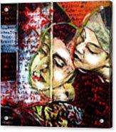 Neruda Love Poem Acrylic Print