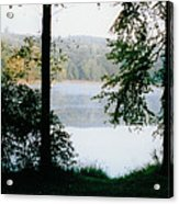 Nestling Lake Acrylic Print