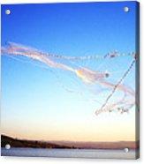 Net Fishing Sea Of Galilee Acrylic Print