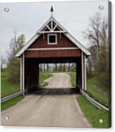 Netcher Road Covered Bridge Acrylic Print
