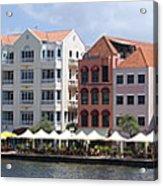 Netherlands Antilles Acrylic Print