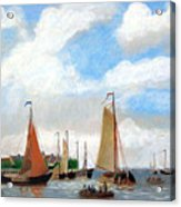 Netherland's Harbour Acrylic Print