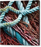 Nets And Knots Number Six Acrylic Print