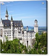 Neuschwanstein Castle Of Germany Acrylic Print