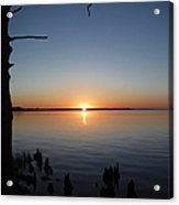 Neuse River Sunset 1 Acrylic Print