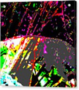 Neutrinos At Play Acrylic Print by Eikoni Images