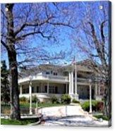 Nevada Governors Residence Acrylic Print