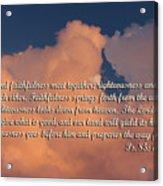 Nevada Sunset Ps.85 V 10-13 Acrylic Print
