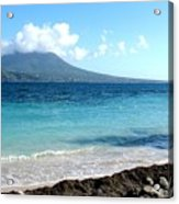 Nevis Across The Channel Acrylic Print