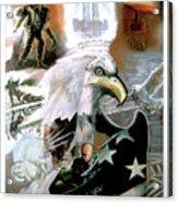 New American Pride Acrylic Print