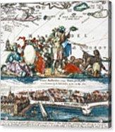 New Amsterdam, 1673 Acrylic Print