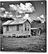 New And Old House Acrylic Print