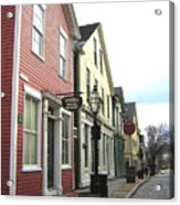 New Bedford Street Acrylic Print