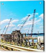 New Bridge For Canton Acrylic Print