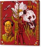 New China Acrylic Print