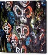 New Dark Acrylic Print