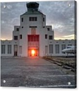 New Dawn For An Old Airport Acrylic Print