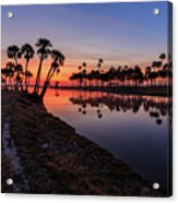 New Day At Econ River Acrylic Print