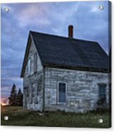New Day Old House Acrylic Print