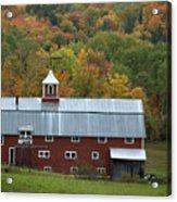 New England Barn Acrylic Print