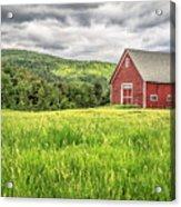 New England Farm Landscape Acrylic Print