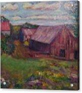 New England Farm Acrylic Print