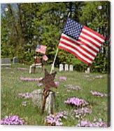 New England Graveyard Acrylic Print