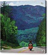 New England Journeys - Motorcycle 2 Acrylic Print