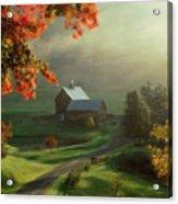 New England Landscape Acrylic Print