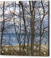 New England Massachusetts Beach  Scene Acrylic Print