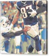 New England Patriots Rob Gronkowski 3 Acrylic Print