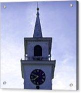 New England Steeple Acrylic Print