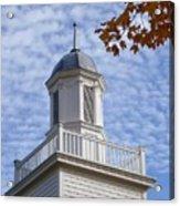New England Steeple - Ridgefield, Connecticut Acrylic Print