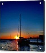 New England Sunset Acrylic Print