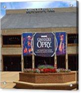 New Grand Ole Opry House Acrylic Print