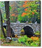 New Hampshire Bridge Acrylic Print