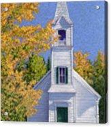 New Hampshire Church Acrylic Print